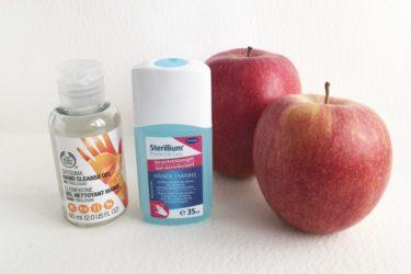 ヨーロッパ旅行には必須の抗菌ハンドジェル ( Desinfektionsgel / Hand Cleanse Gel )