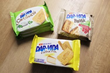 スイス人なら一度は食べたことのあるクラッカー「ダルヴィダ」おすすめ3+1選 ( DAR-VIDA )