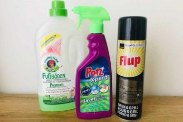 スイスで掃除!よく効く洗剤をビフォーアフター写真でご紹介