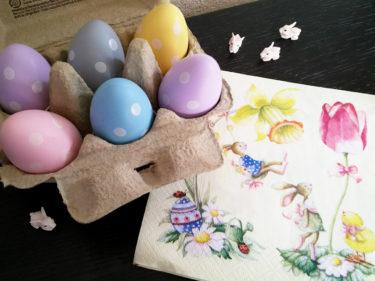 イースター(復活祭)の飾り付け、スイスではこんな感じ