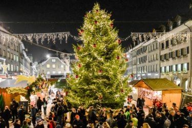 冬の風物詩、スイスが誇るクリスマスマーケット5選