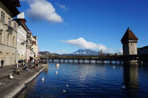 ルツェルンのカペル橋 ( Kapellbrücke, Luzern )