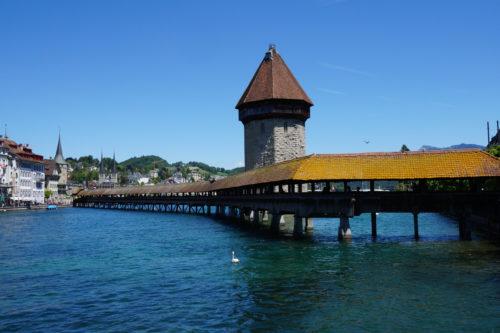 カペル橋 ( Kapellbrücke, Luzern )
