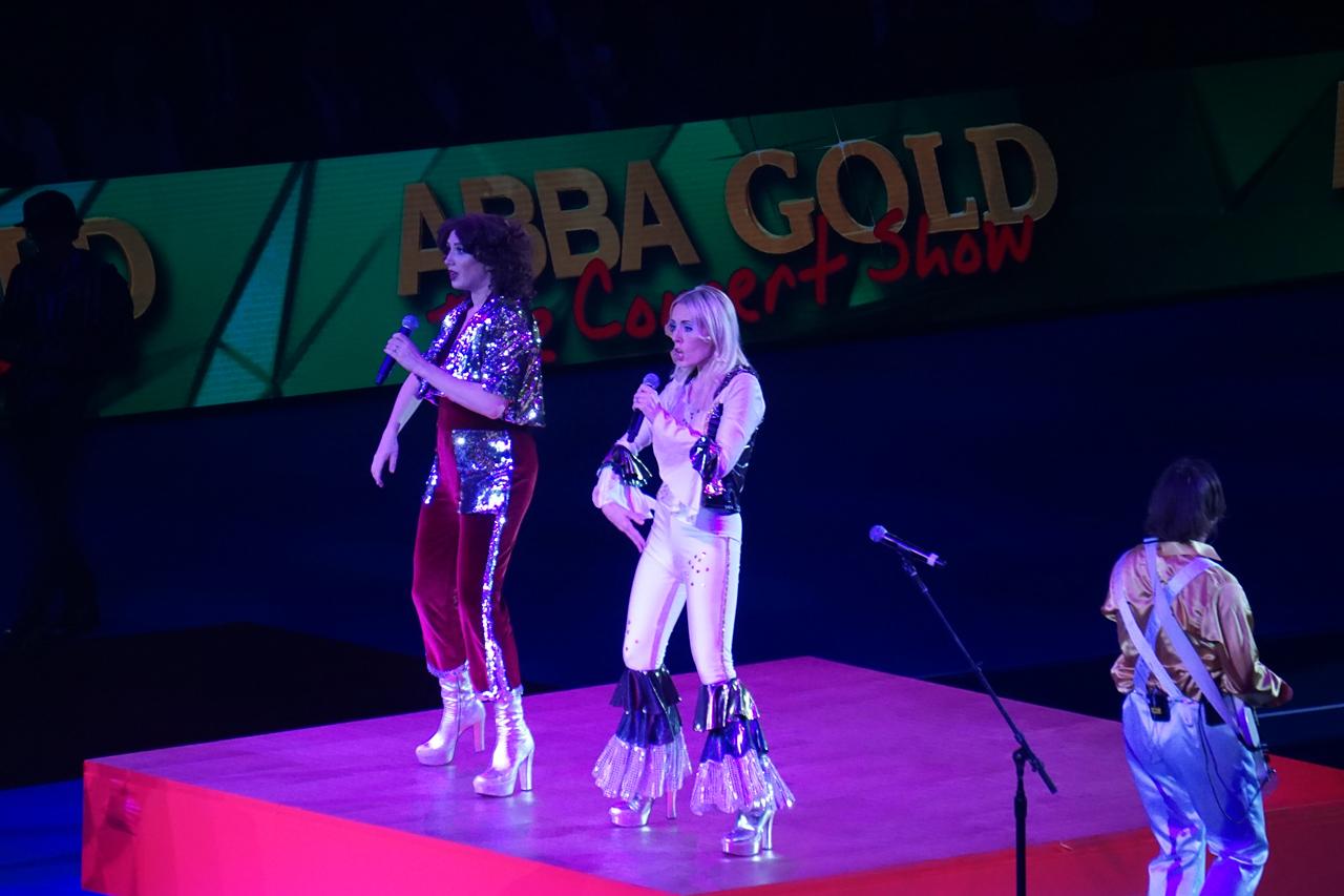 スイス・インドア2018 テニス オープニングセレモニー スーパーマンデー(Super Monday)  ABBA GOLD