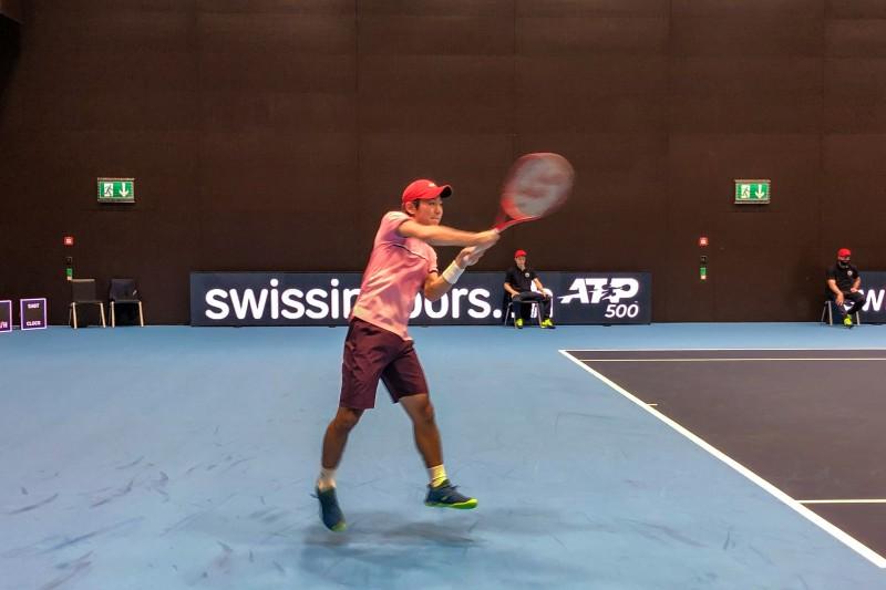 スイス・インドア2019 テニス 西岡良仁選手