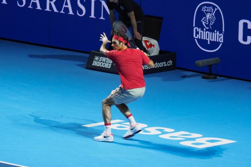 スイス・インドア2019 テニス フェデラー選手