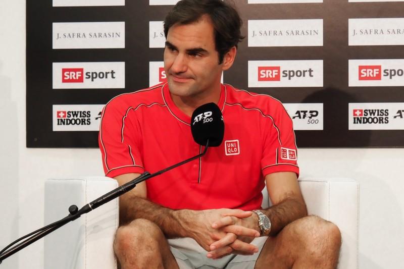 スイス・インドア2019 テニス ロジャー・フェデラー選手の優勝記者会見