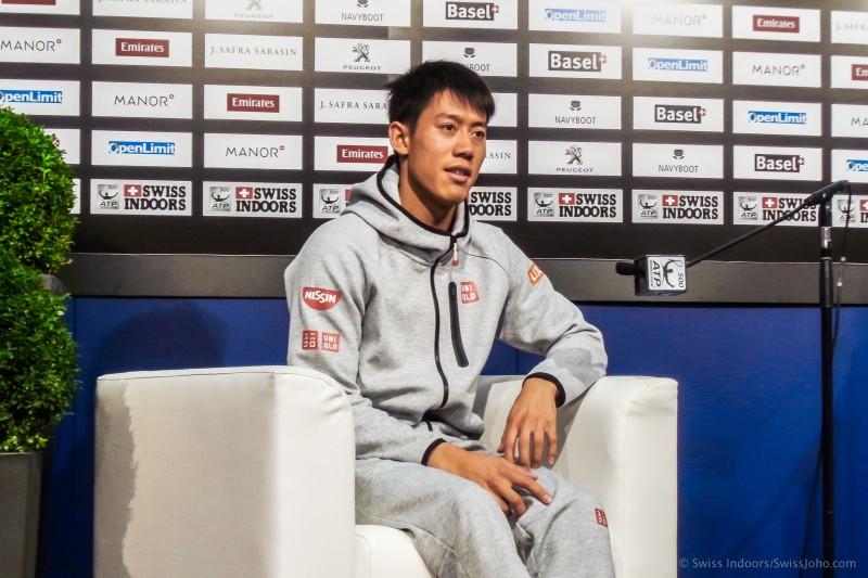 スイス・インドア2016 テニス 錦織圭選手インタビュー