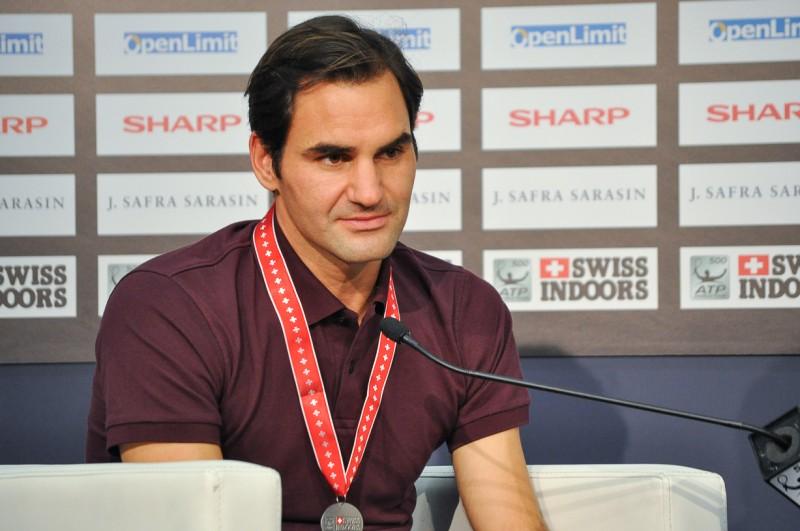 スイス・インドア2018 テニス フェデラー選手試合後記者会見 スイス情報.com