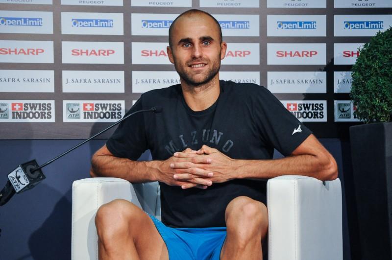 スイス・インドア2018 テニス コピル選手試合後の記者会見 スイス情報.com