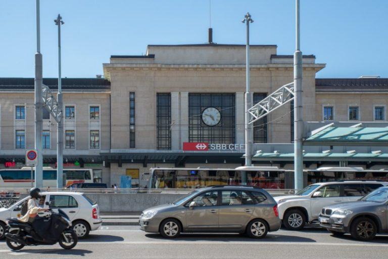 ジュネーブ中央駅